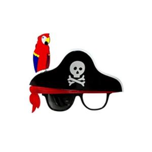 Óculos Pirata Com Papagaio