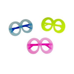 Óculos Neon Redondo - 12 unidades