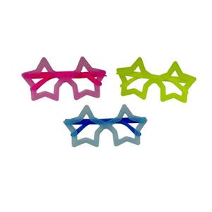 Óculos Neon Estrela - 12 unidades