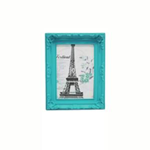 Porta Retratos Provençal Azul Tifanny 17X12cm