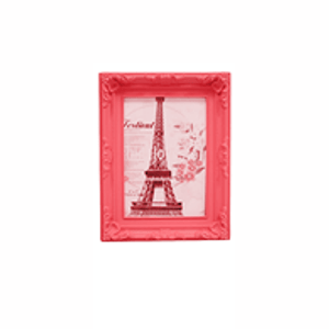Porta Retratos Provençal Vermelho 17X12cm