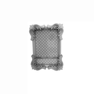 Porta Retratos Provençal Prata 17X12cm