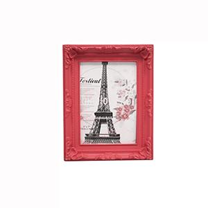 Porta Retratos Provençal Vermelho 21,5X15cm
