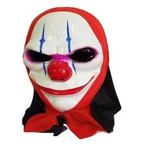 Máscara em Plástico Rígido Palhaço de Filme de Terror