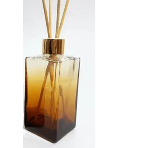 Difusor de Vidro Retangular Degradê Mel 250 ml