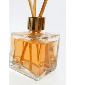 Difusor de Vidro Quadrado Degradê Mel 250 ml