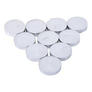Vela Rechaud com Alumínio Branca com 6 Unidades 4 x 1,5cm