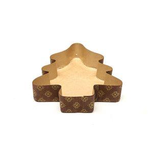 Forma de Papel Especial Formato Árvore  14 x 16 x 3,5cm - 5 Unidades