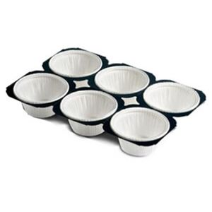 Bandeja de Papel Forneável Muffin 50gr 5 x 4cm - 30 Unidades