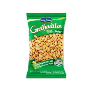 Amendoim Grelhaditos Torrado e Salgado Sem Pele 400g