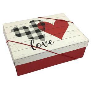 Caixa Decorada Meu amor 24x18x8cm