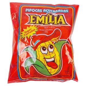 Saco de Pipoca Emilia com 50 Unidades de 12grs