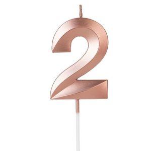 Vela Design Rose Gold Numero 2