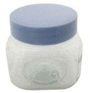 Lembrancinha Plástica Mini Baleiro 6 x 5 x 4cm com 12 Unidades Prata