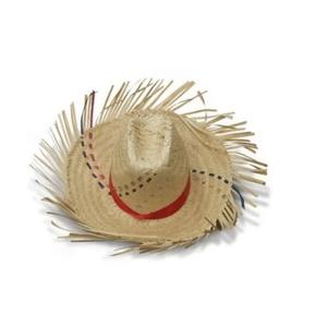 Chapéu de Palha Desfiado Para Festa Junina