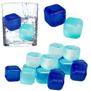 Cubos Gelo 12 Peças Ecológico Reutilizável Artificial 1,2cm