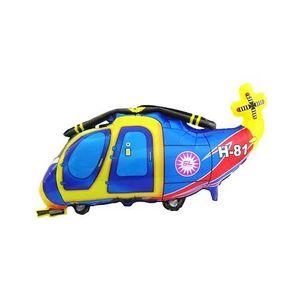 Balão Metalizado Aviãozinho 80 x 42,5cm