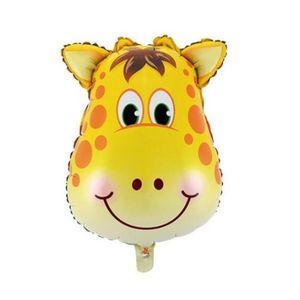 Balão Metalizado Safari Girafa 85 x 75cm