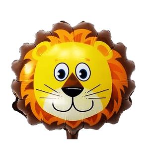 Balão Metalizado Safari Leão 62,5 x 45cm