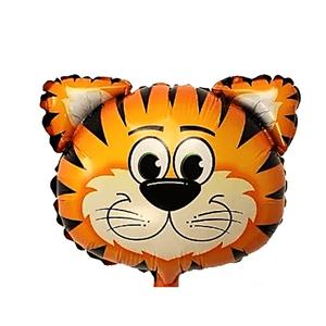 Balão Metalizado Safari Tigre 62,5 x 45cm