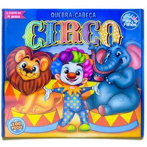 Quebra Cabeça Circo com 100 Peças