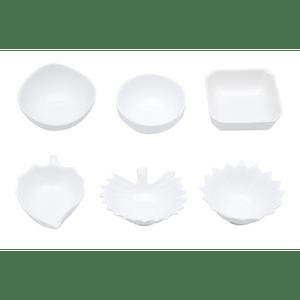 Petisqueira Porcelana Formatos sortidos - 1 unidade