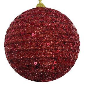 Bola Decorada Vermelha