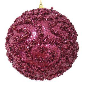 Bola Decorada Cereja com Arabescos 10cm