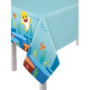 Toalha Plástica Decorativa Baby Shark