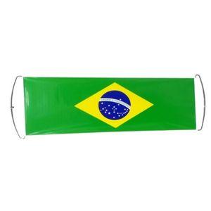 Bandeira de Vidro de Carro 70x24cm