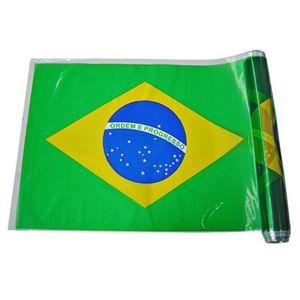 Bandeira Plástica do Brasil 38cmx25m
