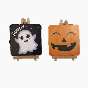 Kit Mini Cavaletes Halloween 2 Unidades- HW0008