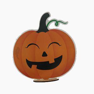 Enfeite De Mesa Abobora Halloween - HW0501