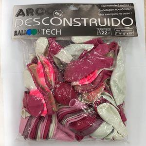 Balloontech C/122 Arco Desconstruido Rosa