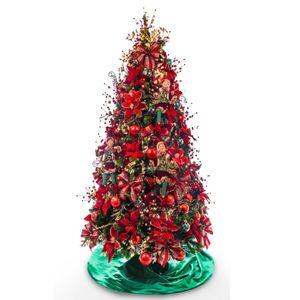 Kit Decoração Árvore Christmas com Duendes (PARA ÁRVORE DE 2,10m)