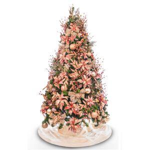 Kit Decoração Árvore Rosê (PARA ÁRVORE DE 2,10m)